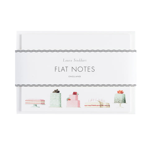 Cake Flatnotes - NEW for 2019