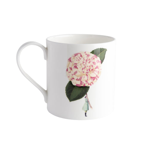In Bloom - Bone China Mug Camellia (out of stock)