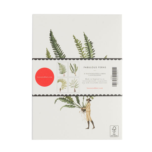 Fabulous Ferns Notecards