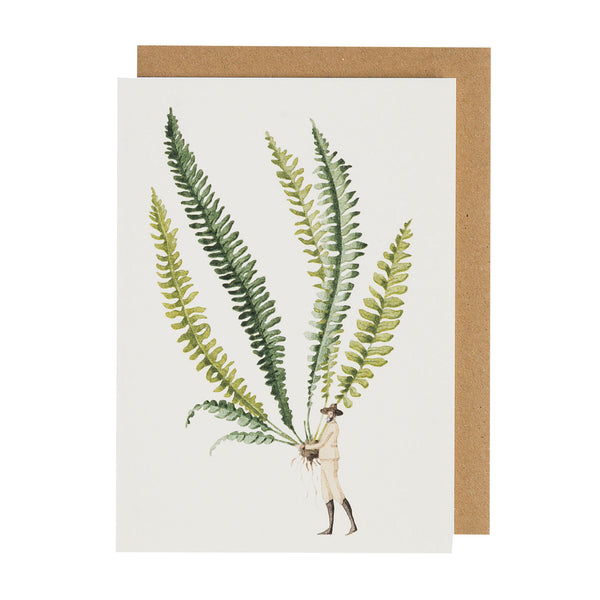 Greetings Card Fabulous Ferns 1