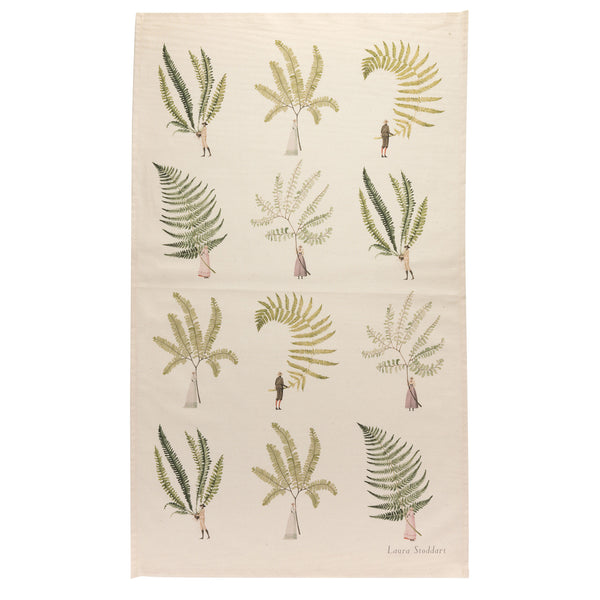 Fabulous Ferns - multi fern Tea Towel
