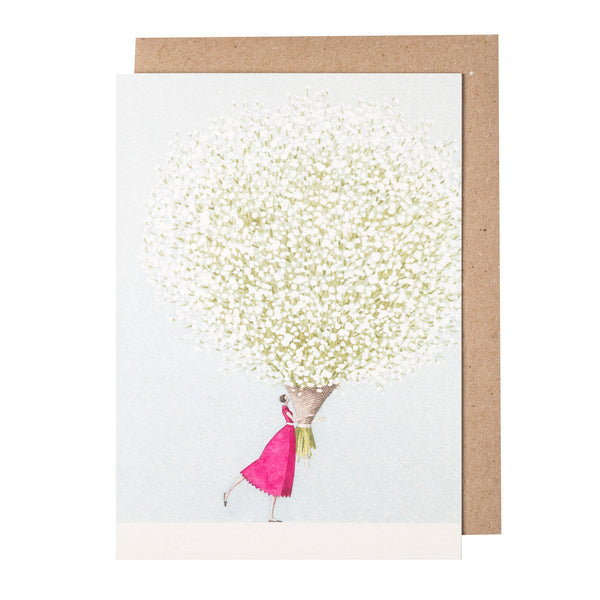 Greetings Card - Baby's Breath