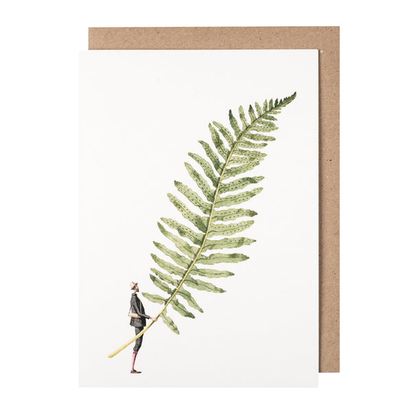 Greetings Card - Fabulous Ferns 6