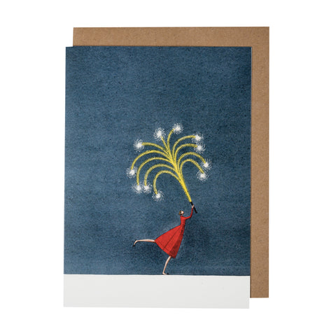 Greetings Card - Firework