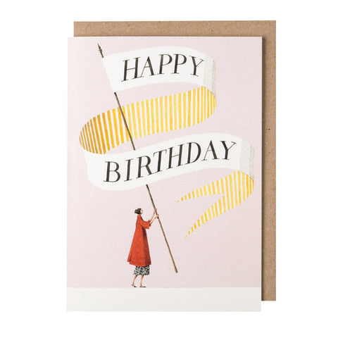 Greetings Card - Happy Birthday Lady