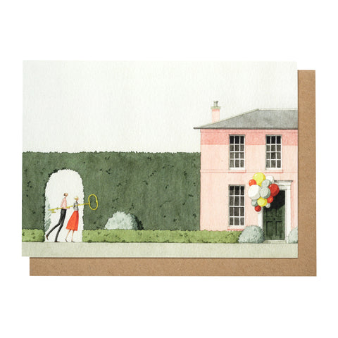 Greetings Card - New Home