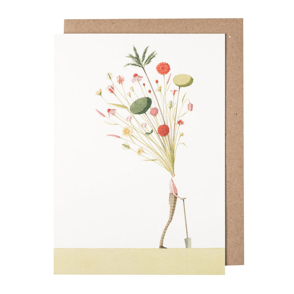 Greetings Card - Seed Head