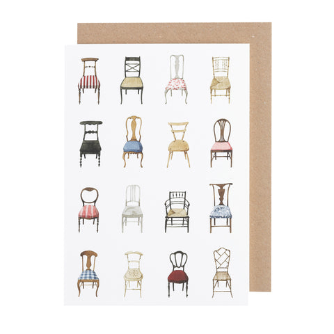 Greetings Card - Musical Chairs