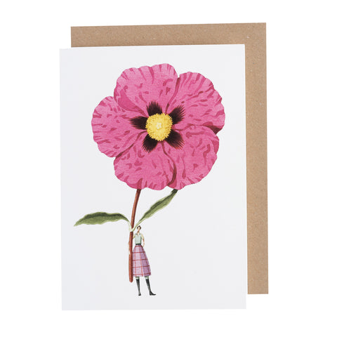 Greetings Card - Cistus