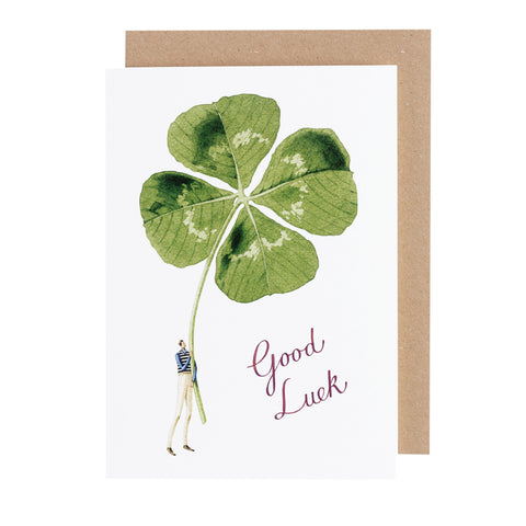 Greetings Card - Good Luck Gentlemen