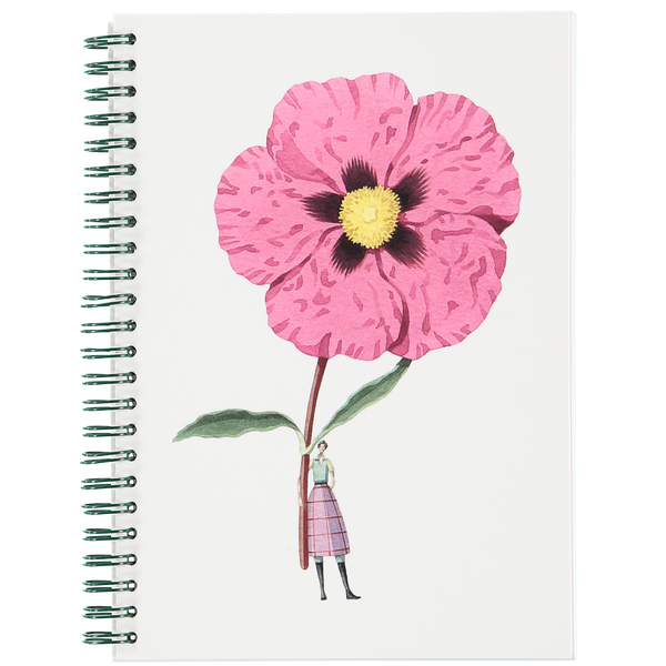 In Bloom - A5 Wiro Notebook (25% off)