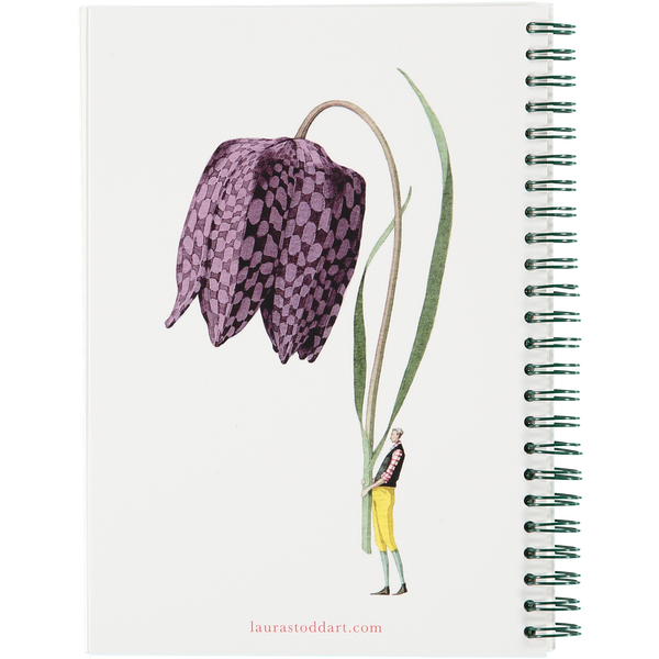 In Bloom A5 Wiro Notebook
