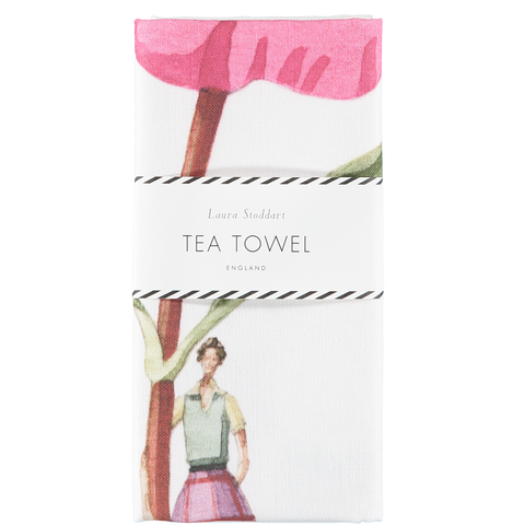In Bloom Tea Towel - Cistus