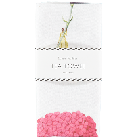 In Bloom Tea Towel - Multi Flower (back in stock in August)