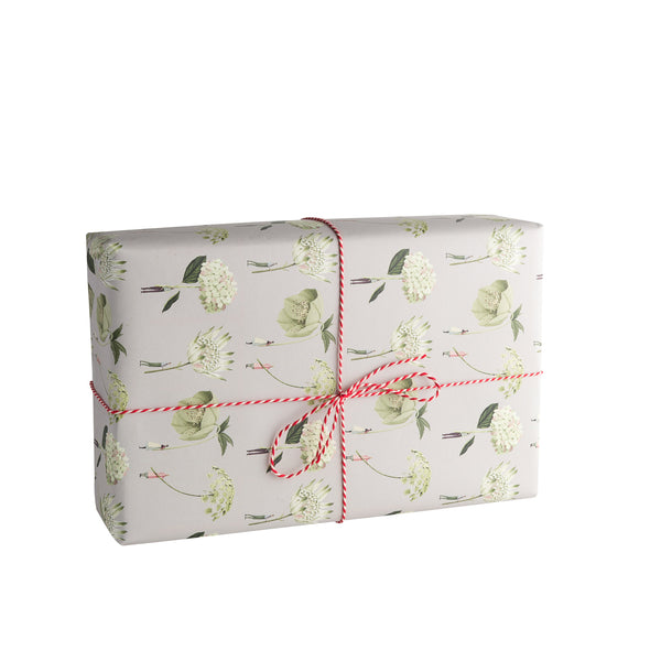 "In Bloom ""Green"" Gift Wrap"