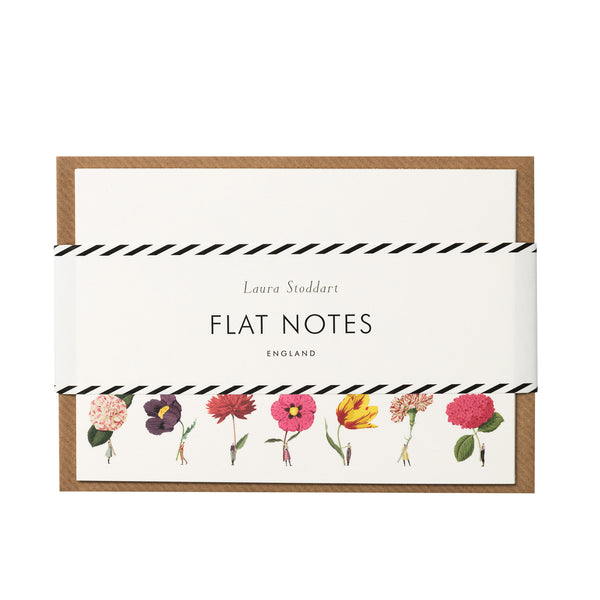 In Bloom - Flatnotes Coloured Flowers