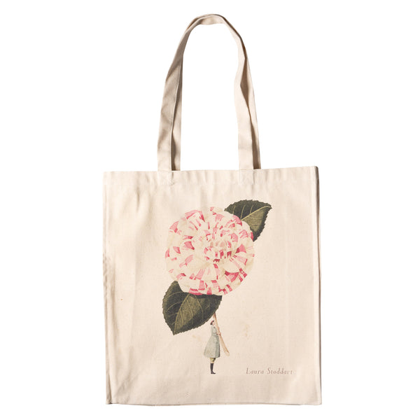 In Bloom - Camelia Heavyweight Cotton Shopper Bag