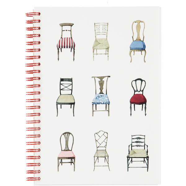 Musical Chairs A5 wiro notebook