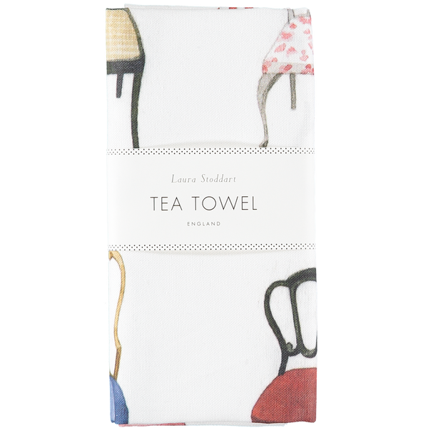 Musical Chairs Tea Towel