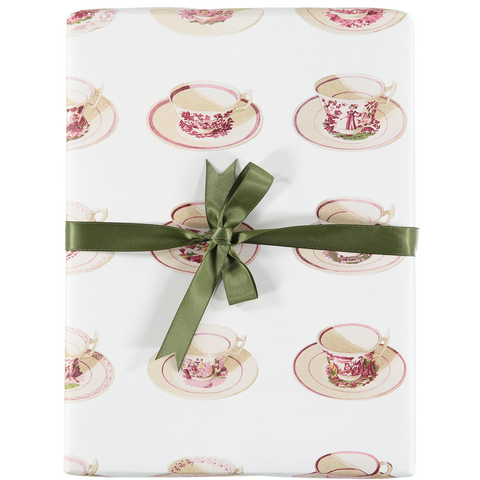 Tea Time Gift Wrap - 40%