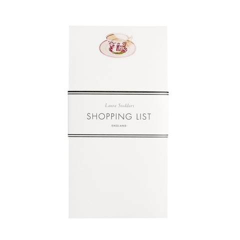 Tea Time - Shopping List