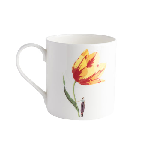 In Bloom - Bone China mug Tulip (out of stock)