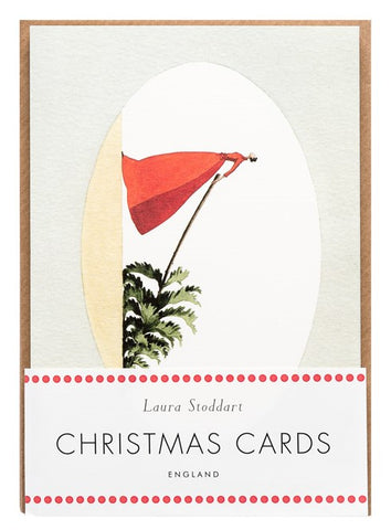 Christmas Cards ten pack  - Mrs Christmas