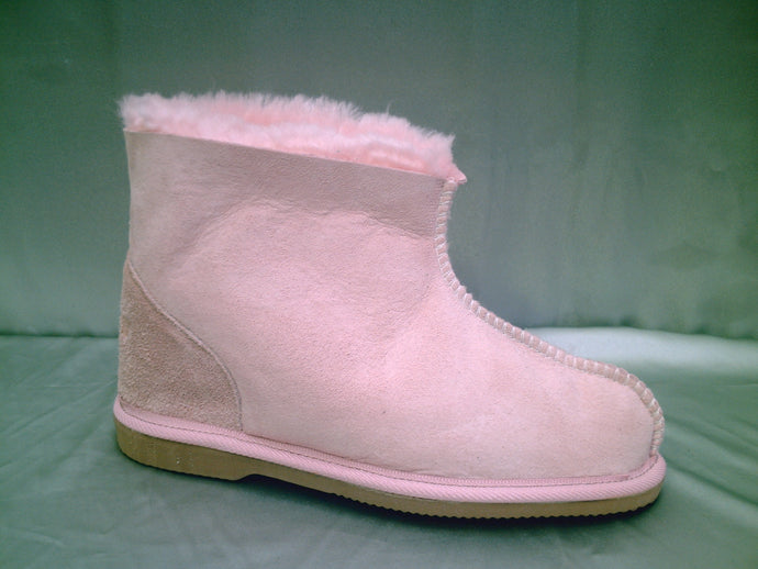 UGG boots - Ladies Ankle.  Colours Natural and Soft Pink