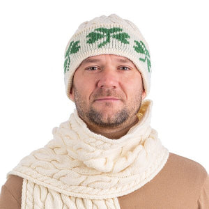 Shamrock Knit Merino Wool Hat