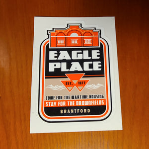 Eagle Place Sticker