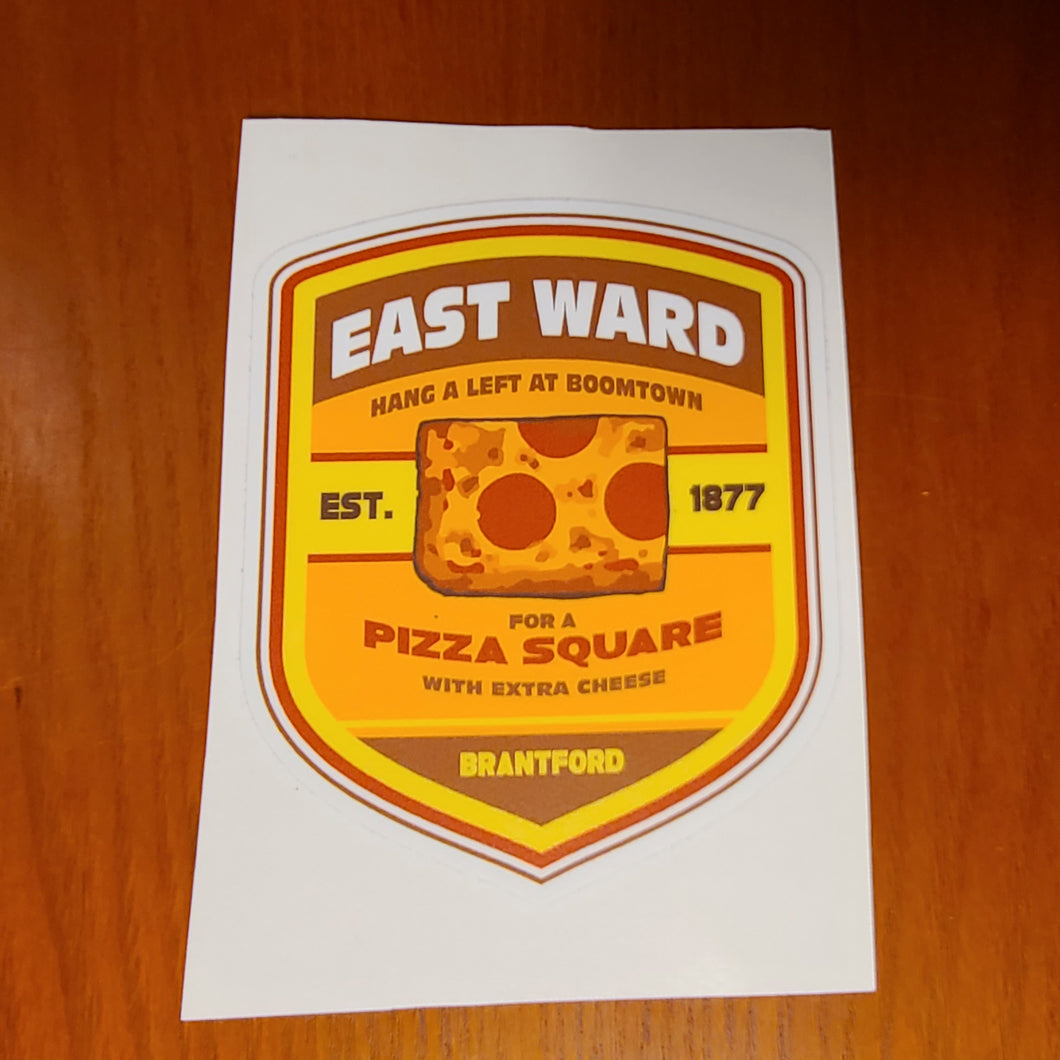East Ward Sticker