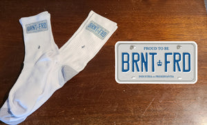 Brantford License Plate Socks