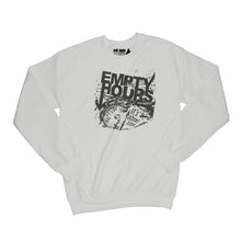 Load image into Gallery viewer, Empty Hours It's About Time album cover Sweatshirt Small Ash Grey/Black