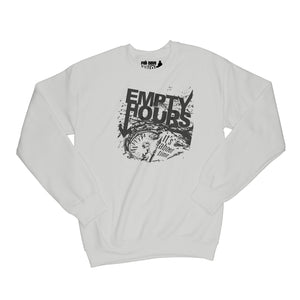 Empty Hours It's About Time album cover Sweatshirt Small Ash Grey/Black