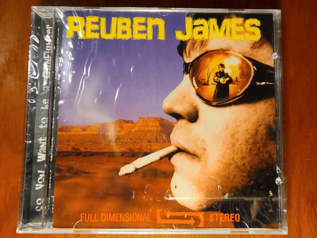 So You Want to be a Gunfighter - Reuben James CD