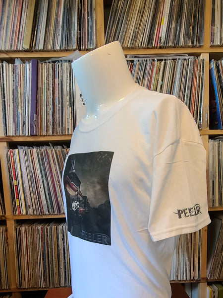 Peeler Album Cover T-Shirt (White)