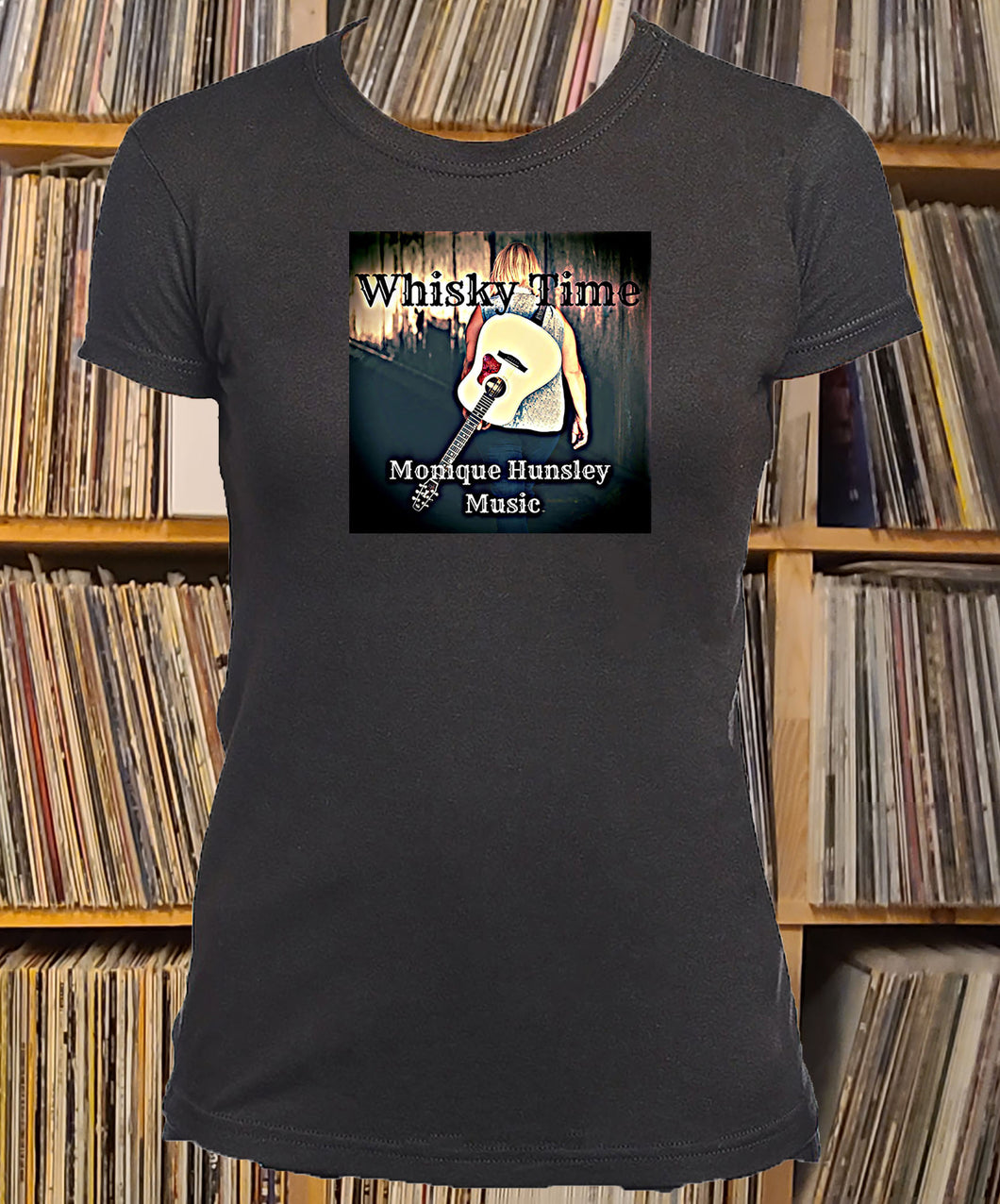 Monique Hunsley Whisky Time Ladies T-Shirt