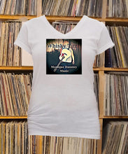 Load image into Gallery viewer, Monique Hunsley Whisky Time Ladies V-Neck Shirt