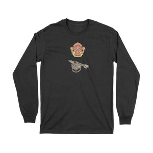 Canadian Military Heritage Museum German Trench Mortar Long Sleeve T-Shirt
