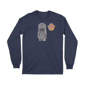Canadian Military Heritage Museum Ships Gun Long Sleeve T-Shirt