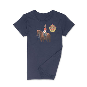 Canadian Military Heritage Museum Mounted Dragoon Ladies Round Neck T-Shirt