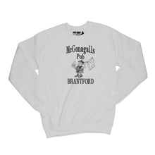 Load image into Gallery viewer, McGonagalls Pub Logo Sweatshirt Small Ash Grey/Black