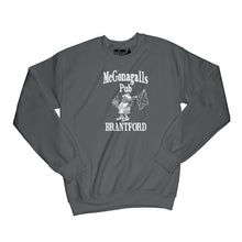 Load image into Gallery viewer, McGonagalls Pub Logo Sweatshirt Small Black/White