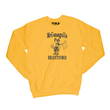 Load image into Gallery viewer, McGonagalls Pub Logo Sweatshirt Small Daisy/Black