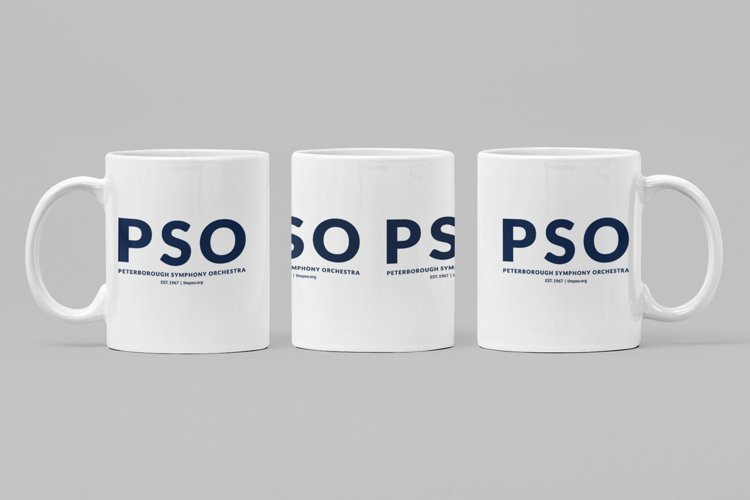 PSO Large Text Coffee Mug