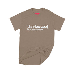 Lucas Duguid (Octopus Red) Dah-loo-zee T-Shirt Small Brown Savanah