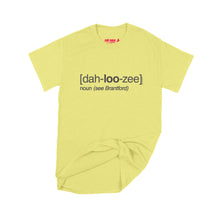Load image into Gallery viewer, Lucas Duguid (Octopus Red) Dah-loo-zee T-Shirt Small Cornsilk