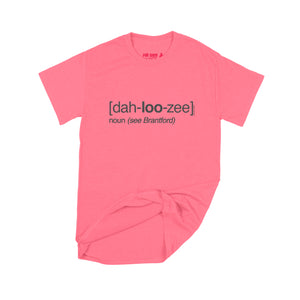 Lucas Duguid (Octopus Red) Dah-loo-zee T-Shirt Small Coral Silk