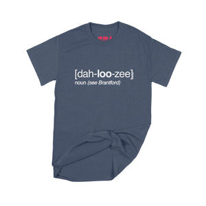 Lucas Duguid (Octopus Red) Dah-loo-zee T-Shirt Small Navy Blue