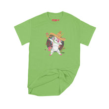 Load image into Gallery viewer, Fat Dave Fiesta Unicorn T-Shirt Small Lime Green